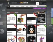 Webseite von getDigital zum getDigital Gutschein einlösen