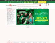 Webseite von LightInTheBox zum LightInTheBox Gutschein einlösen