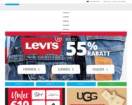 Webseite von MandMDirect zum MandMDirect Gutschein einlösen