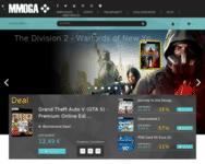 Webseite von MMOGA zum MMOGA Gutschein einlösen