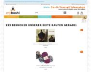 Webseite von myboshi zum myboshi Gutschein einlösen