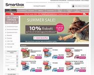 Webseite von Smartbox zum Smartbox Gutschein einlösen