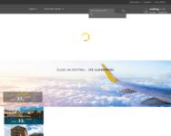 Webseite von Vueling zum Vueling Gutschein einlösen