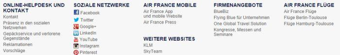 Air France Service