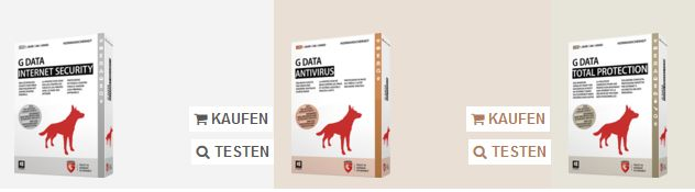 G Data Angebot