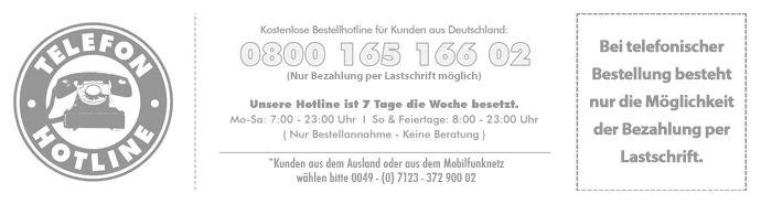 Telefonischer Kontakt zum Karneval Megastore