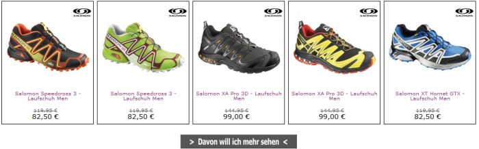 Unlimited Outdoor Angebot