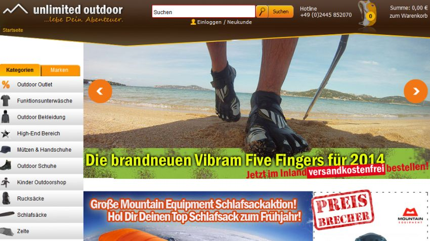 Unlimited Outdoor Gutschein
